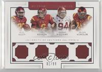 Buck Allen, Leonard Williams, Cody Kessler, Nelson Agholor /99