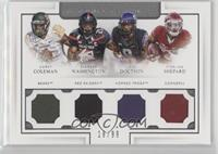 Corey Coleman, DeAndre Washington, Josh Doctson, Sterling Shepard /99