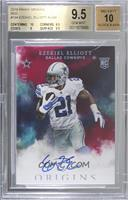 Rookie Autographs - Ezekiel Elliott [BGS 9.5 GEM MINT] #/49