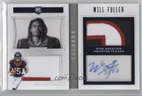 Rookie Playbook Jersey Autographs - Will Fuller V #31/49
