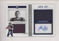 Rookie Playbook Jersey Autographs - Jared Goff [Noted] #/99