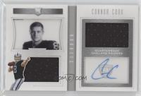 Rookie Playbook Jersey Autographs - Connor Cook #31/99