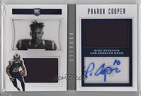 Rookie Playbook Jersey Autographs - Pharoh Cooper /199