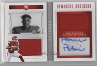 Rookie Playbook Jersey Autographs - Demarcus Robinson /199