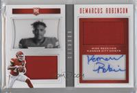 Rookie Playbook Jersey Autographs - Demarcus Robinson #192/199