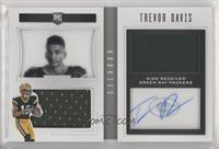 Rookie Playbook Jersey Autographs - Trevor Davis #/199
