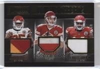 Alex Smith, Demarcus Robinson, Jamaal Charles #/50