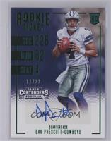 Contenders Preview Autographs - Dak Prescott /22 [Near Mint‑Mint]