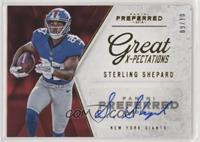Great X-Pectations - Sterling Shepard #/10