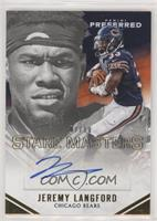 Stare Masters - Jeremy Langford #/10