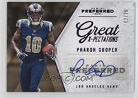 Great X-Pectations - Pharoh Cooper /25