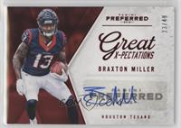 Great X-Pectations - Braxton Miller /49