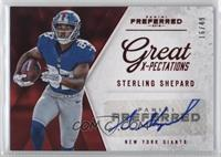 Great X-Pectations - Sterling Shepard /49