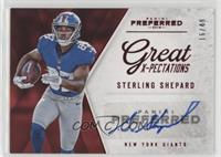 Great X-Pectations - Sterling Shepard #/49