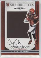 Rookie Silhouettes - Corey Coleman /149