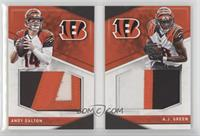 A.J. Green, Andy Dalton #/25