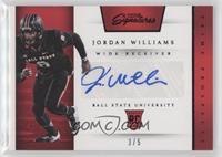 Prime Prospects Signatures - Jordan Williams /5