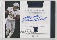 Prime Prospects Signatures - Byron Marshall #/25