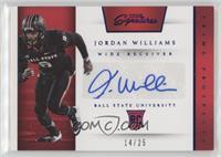 Prime Prospects Signatures - Jordan Williams /25