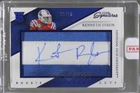 Rookie Signature Cuts - Kenneth Dixon /25 [ENCASED]