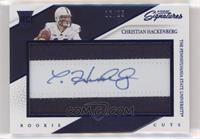 Rookie Signature Cuts - Christian Hackenberg #/25