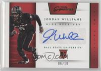 Prime Prospects Signatures - Jordan Williams /10
