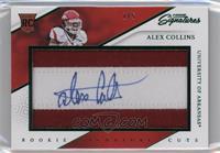 Rookie Signature Cuts - Alex Collins #/5