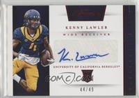 Prime Prospects Signatures - Kenny Lawler #/49