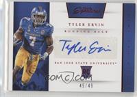 Prime Prospects Signatures - Tyler Ervin /49