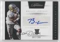 Prime Prospects Signatures - Bralon Addison /199