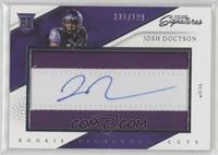Rookie Signature Cuts - Josh Doctson #/199