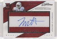Rookie Signature Cuts - Jonathan Williams #/199