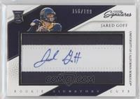 Rookie Signature Cuts - Jared Goff /199