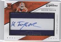 Rookie Signature Cuts - Kelvin Taylor /199