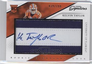 2016 Panini Prime Signatures - [Base] #273 - Rookie Signature Cuts - Kelvin Taylor /199