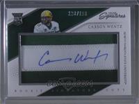 Rookie Signature Cuts - Carson Wentz /199