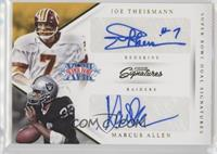 Marcus Allen, Joe Theismann /25
