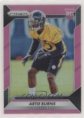 2016 Panini Prizm - [Base] - Pink Prizm #205 - Rookie - Artie Burns