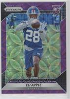 Rookie - Eli Apple #/99