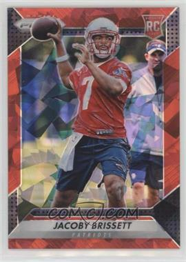2016 Panini Prizm - [Base] - Red Crystals Prizm #292 - Rookie - Jacoby Brissett /75