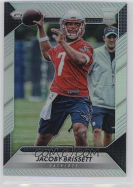 2016 Panini Prizm - [Base] - Silver Prizm #292 - Rookie - Jacoby Brissett