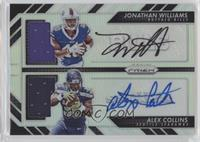 Alex Collins, Jonathan Williams #/99