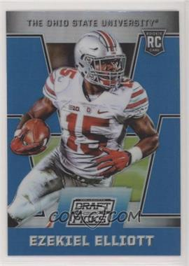 2016 Panini Prizm Collegiate Draft Picks - [Base] - Blue Prizms #105 - Draft Picks - Ezekiel Elliott