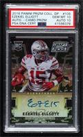 Draft Picks - Ezekiel Elliott [PSA 10 GEM MT] #/199