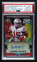 Draft Picks - Ezekiel Elliott [PSA 9 MINT] #/49