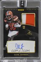 Duke Johnson [Uncirculated] #7/25