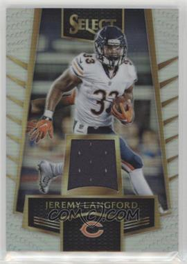 2016 Panini Select - Select Swatches - Prizm #39 - Jeremy Langford /199