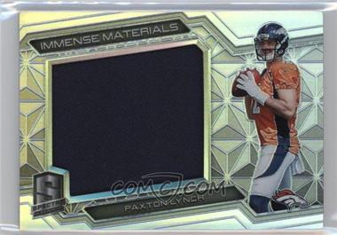 2016 Panini Spectra - Immense Materials #23 - Paxton Lynch /199