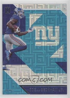 2016 Panini Unparalleled - [Base] - Teal #94 - Odell Beckham Jr.