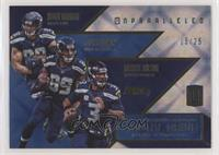 Doug Baldwin, Jimmy Graham, Russell Wilson /25